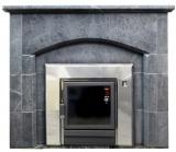 Банные порталы из талькохлорита и кирпича