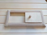 Решетка вентиляционная малая с задвижкой