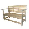 Скамейка со спинкой Диван 1,5м