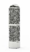 Электрическая печь SAWO DRAGONFIRE HEATER KING DRFT3-60NS-WL-P (выносн.пульт, нерж.)